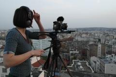 Operatorė-Kristina-Sereikaitė-filmuoja-Paryžiuje